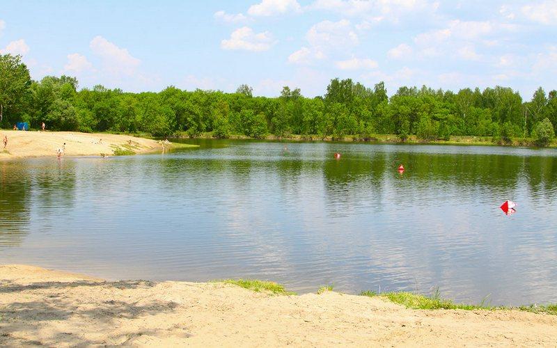 В Брянске запретили купаться на озере Мутном
