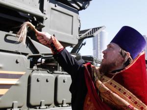 Священникам РПЦ могут запретить освящение оружия массового поражения