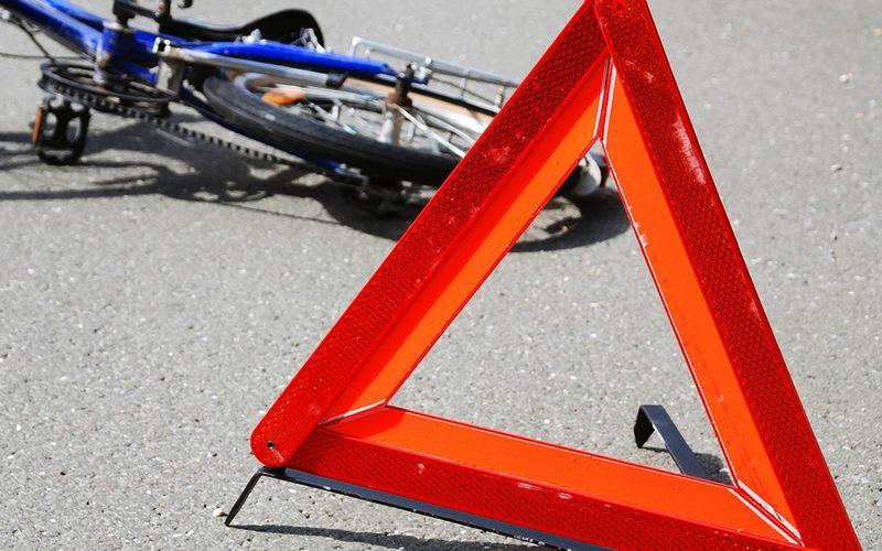 В Сельцо семилетняя велосипедистка упала на проезжавший автомобиль