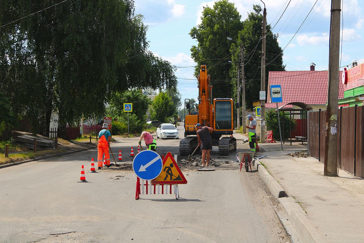 В Брянске на ремонт дорог в Советском районе выделят 240 млн рублей