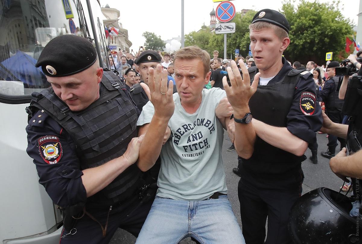 Митинг в поддержку Ивана Голунова закончился
