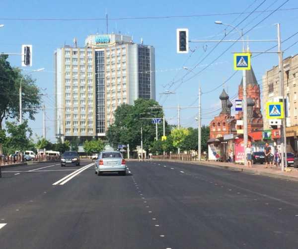 Брянцы обсуждают установку новых светофоров напроспекте Ленина