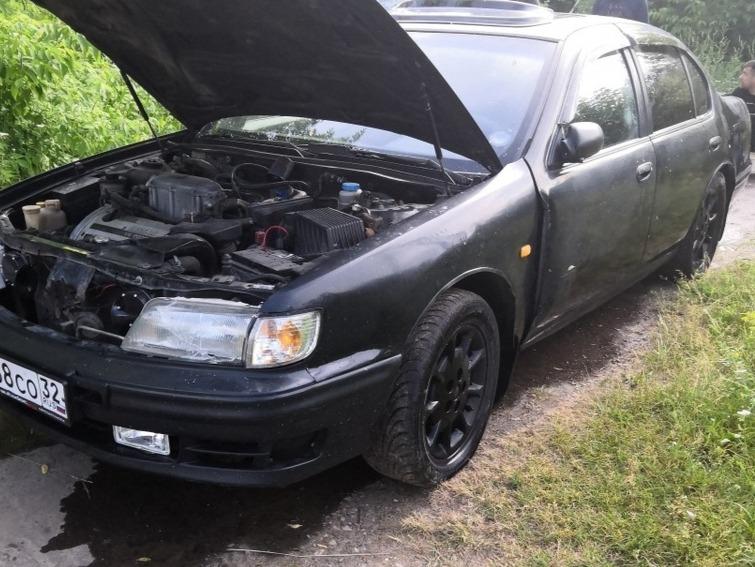 В Брянске из Десны вытащили утонувший Nissan