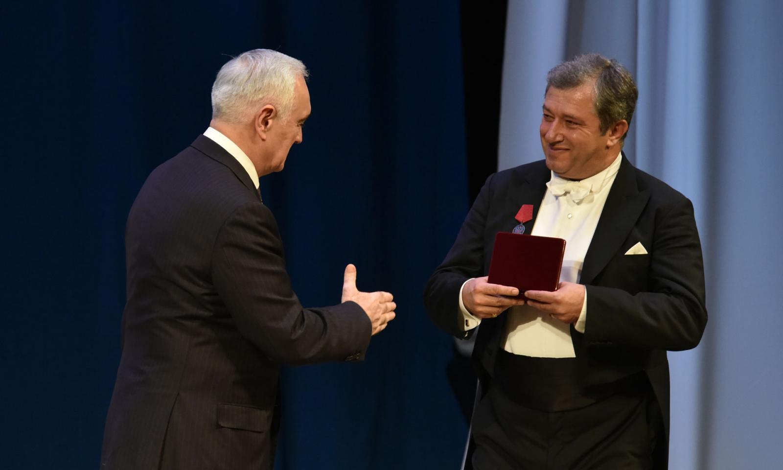 Впраздничный день жителей Брянской области наградили государственными наградами