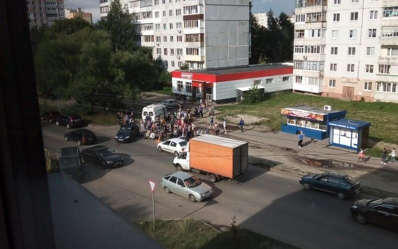 В Брянске на Почтовой пострадал 15-летний мотоциклист