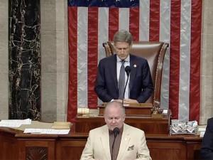 В здании конгресса США провели обряд изгнания злых духов