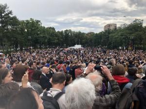 Массового протеста боятся власти Москвы