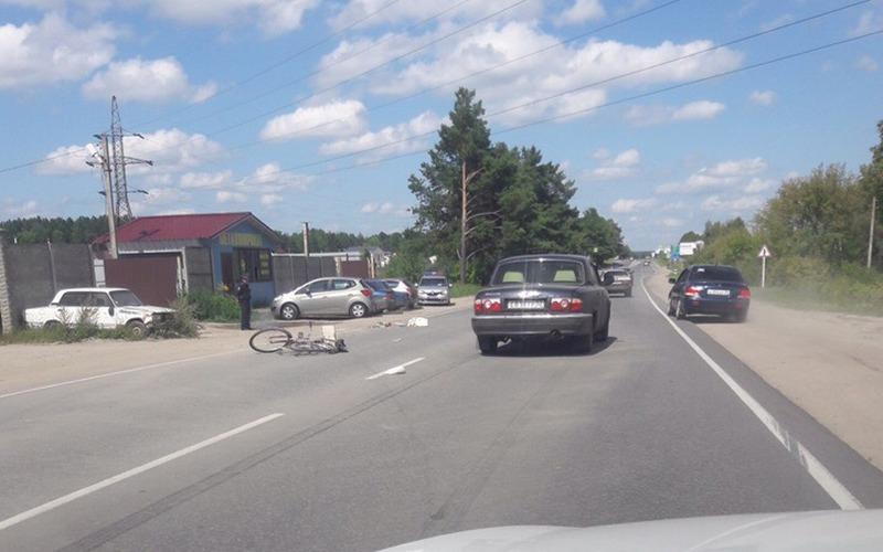 В Брянске сбили велосипедиста