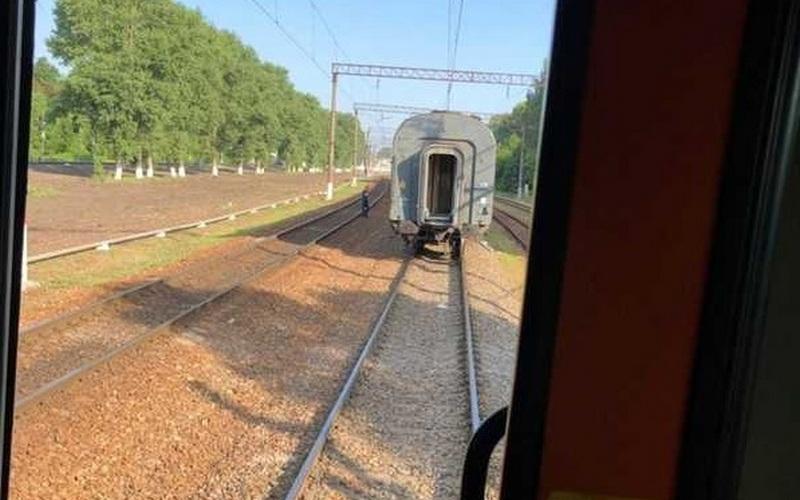 В Брянске поезд расцепился из-за неисправного оборудования
