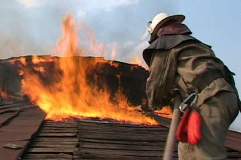 Под Новозыбковом вечером среды горел частный дом