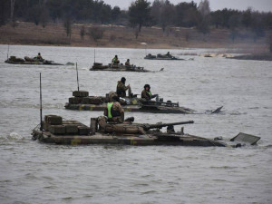 Украинские десантники утонули на глазах инструкторов НАТО