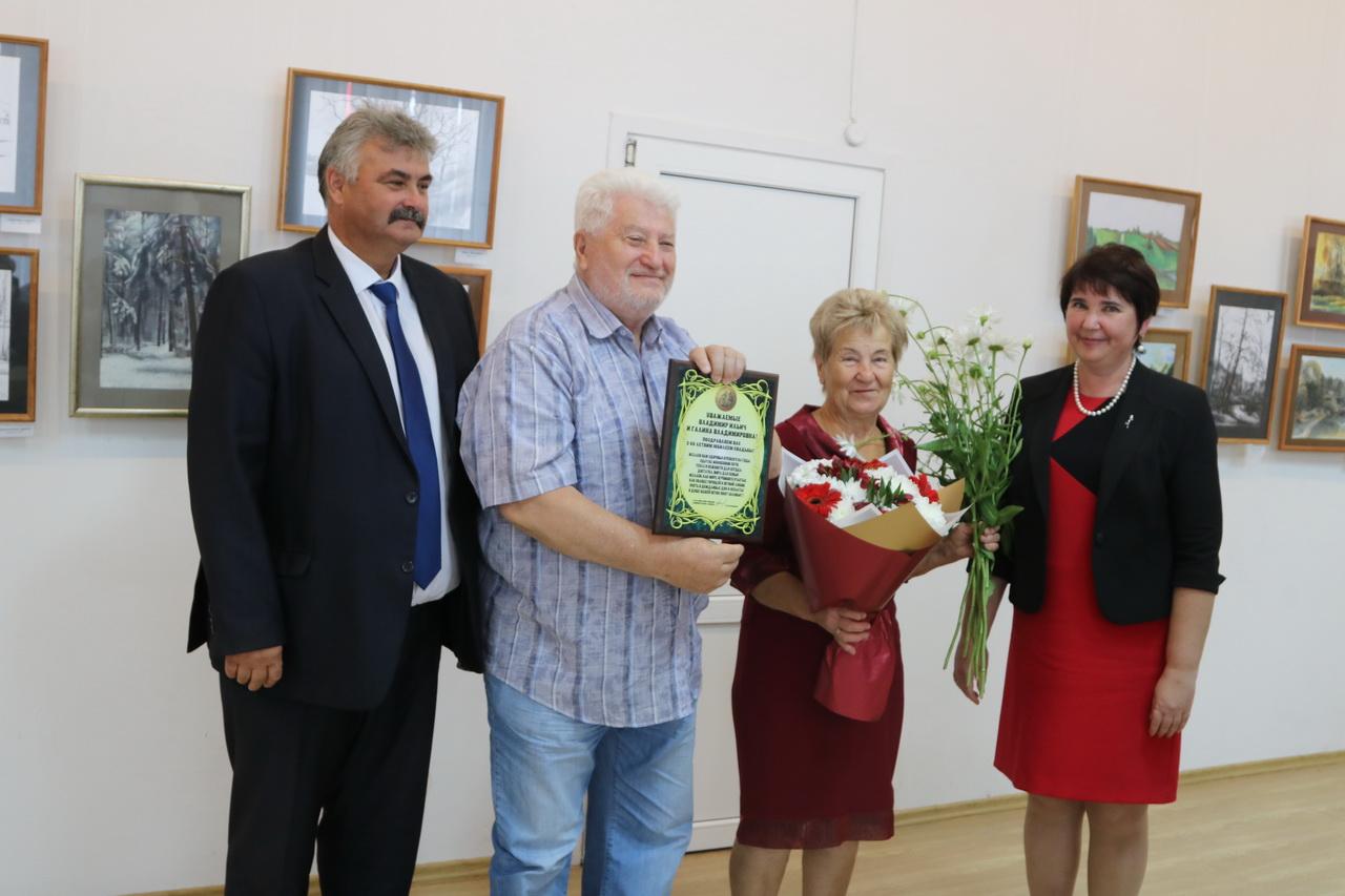 Самые крепкие пары Советского района 8июля принимали поздравления