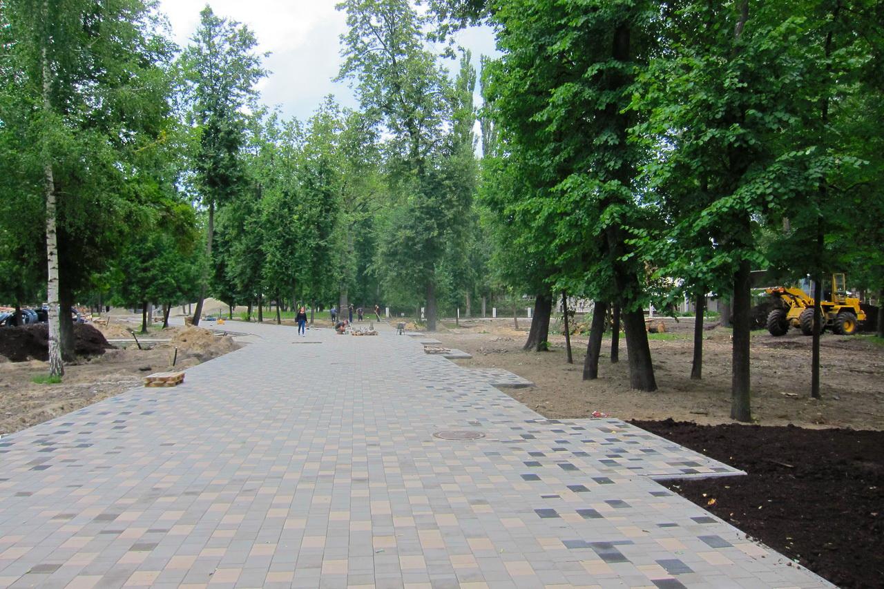 ВМайском парке Брянска вместо 15 появится 179 фонарей