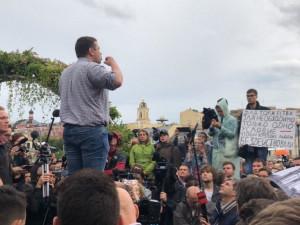 Более 600 человек задержали сегодня в Москве. Но акция протеста продолжается