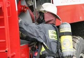 Вечером воскресенья в Брянской области вспыхнул частный дом