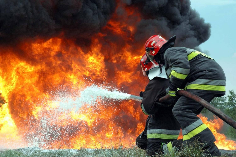 В Дятьковском районе сгорел экскаватор