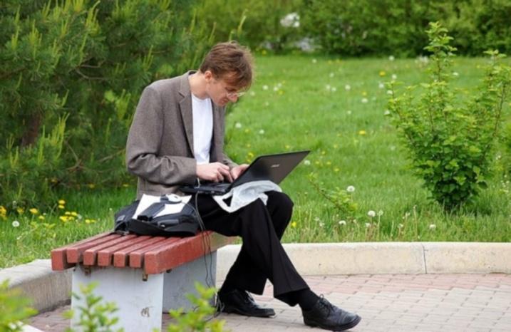Вбрянских парках заработал wi-fi