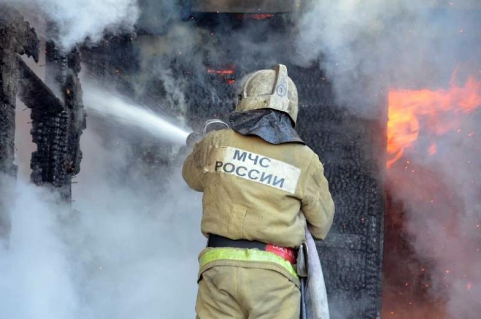В Трубчевском районе в горящем доме погиб 54-летний мужчина
