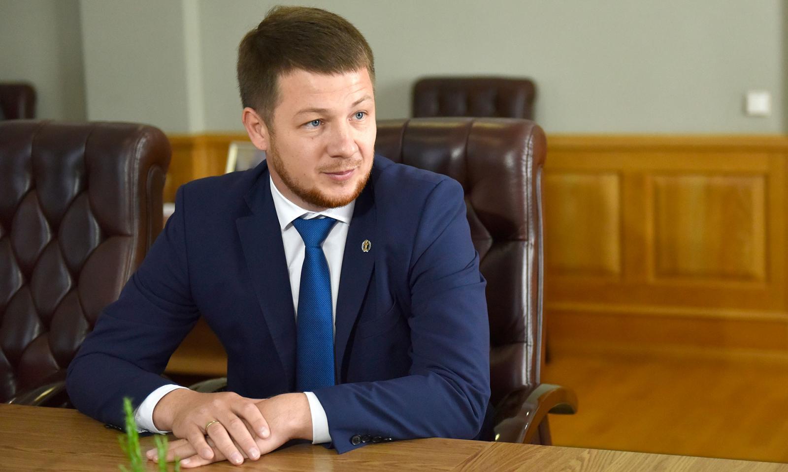 В Брянске прошла рабочая встреча губернатора и президента Адвокатской палаты региона