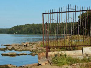 Озеро Кисегач заметно обмелело