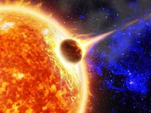 Столкновение кометы с Солнцем сняли на видео в NASA (видео)