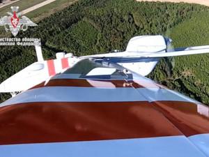 Первый полет беспилотника-разведчика «Форпост-Р» показало на видео Минобороны (видео)