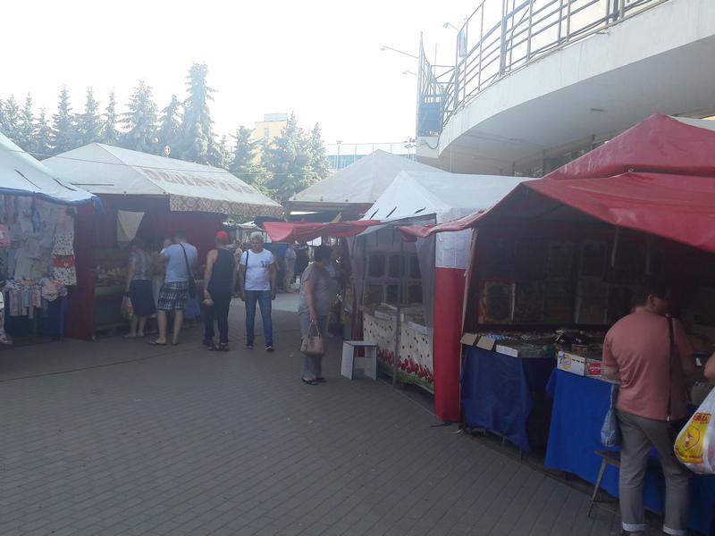 В Брянске на ярмарке задержали владельца мёда