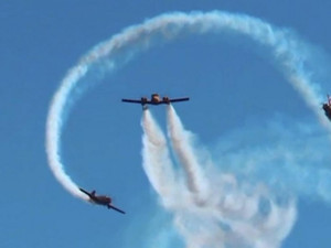 Новую фигуру высшего пилотажа показали российские летчики