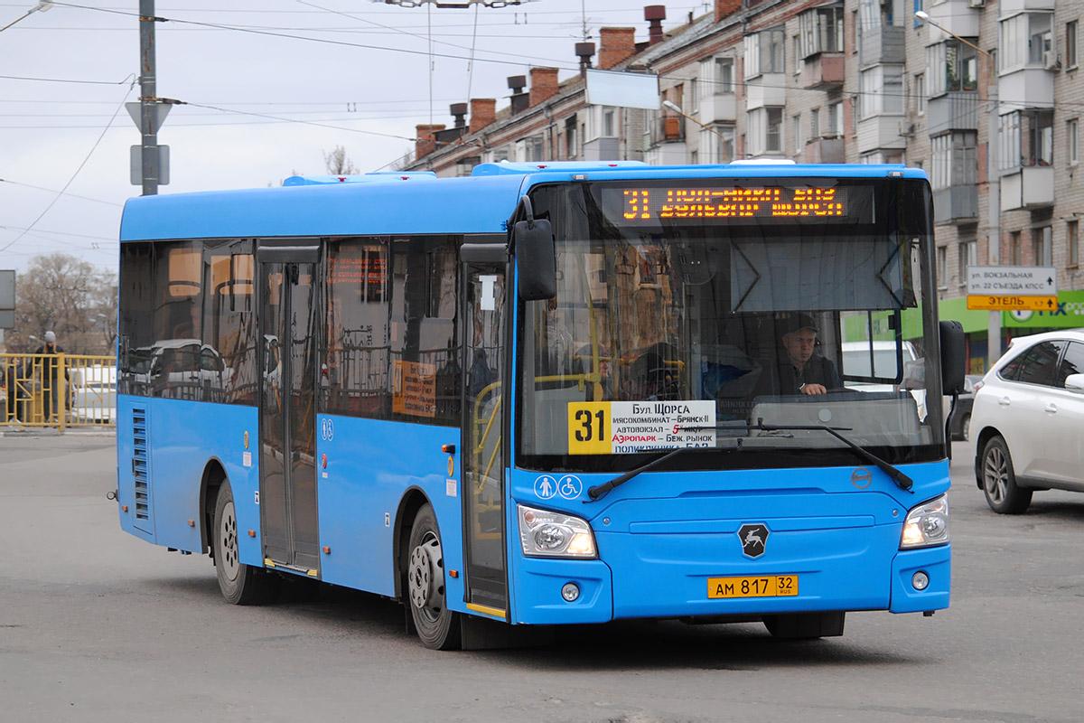 На маршрут №31 в Брянске добавили еще один автобус