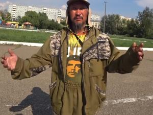 Шаман, который идет в Москву изгонять Путина, уже дошел до Забайкалья