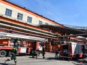 Пожар на цинковом заводе в Челябинске: обошлось без пострадавших