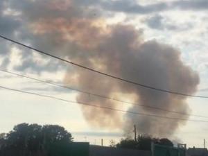 Новые взрывы на складе боеприпасов под Ачинском: пострадали пятеро