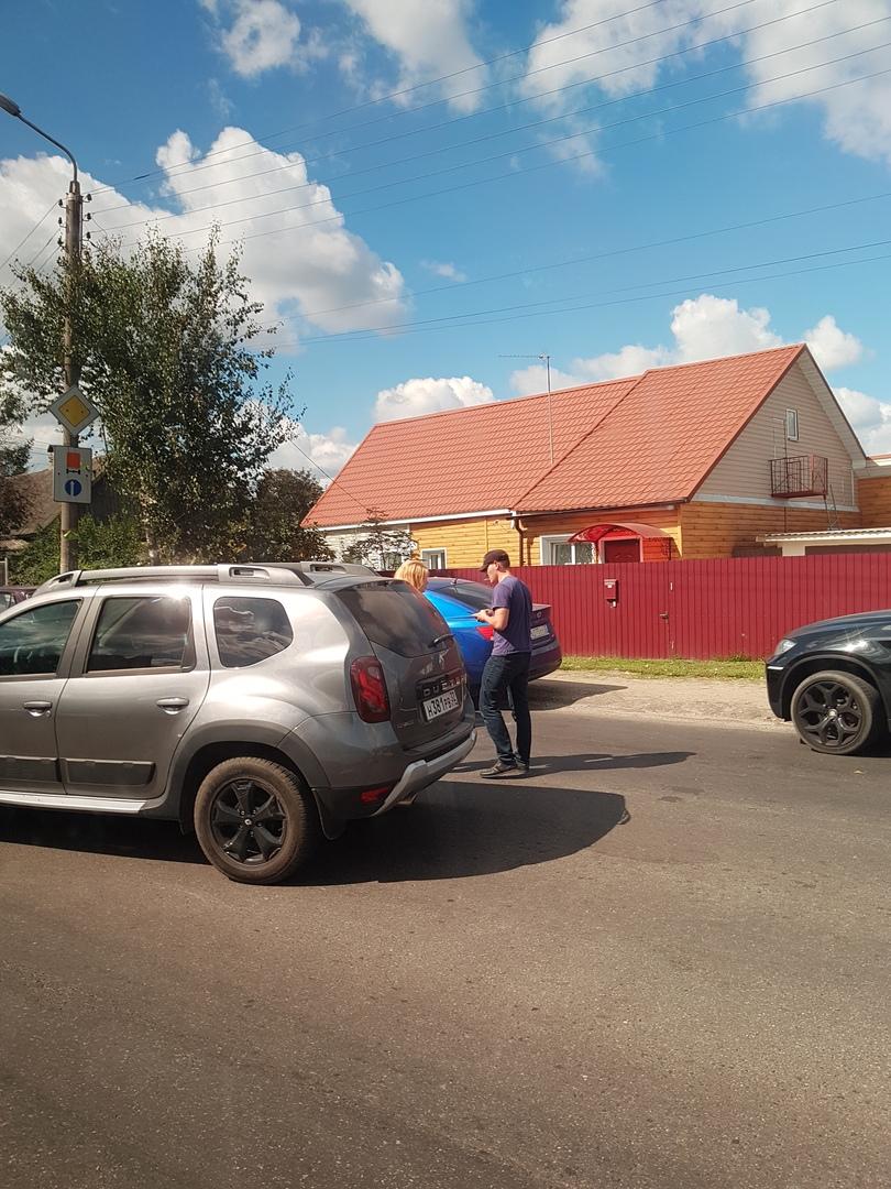 В Брянске на «Горке нищих» разбились две легковушки