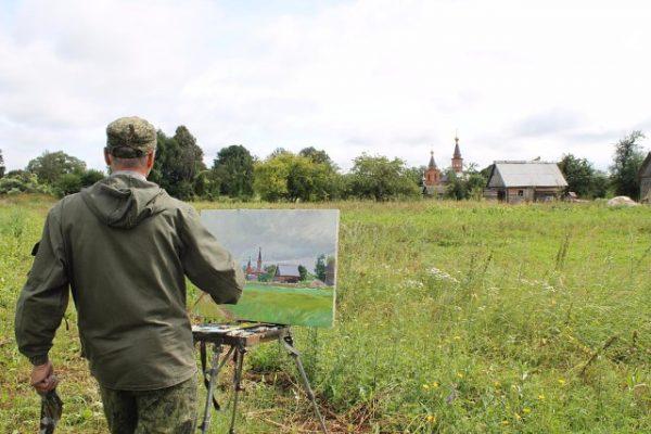 В Унече пройдет Международный пленэр художников