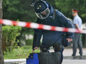Черный рюкзак на главной улицы города поднял по тревоге спецслужбы