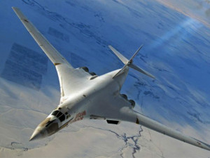 Зрелищные кадры боевого применения Ту-160 показали на видео