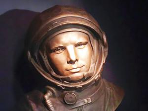 Бюст Юрия Гагарина поставили в США