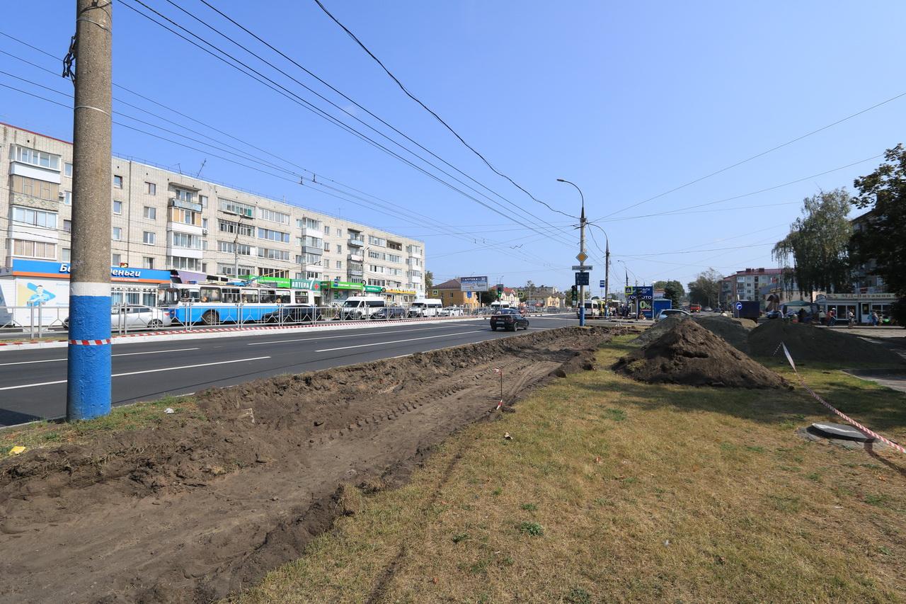 Вдоль проспекта Московского в Брянске восстановят тротуары