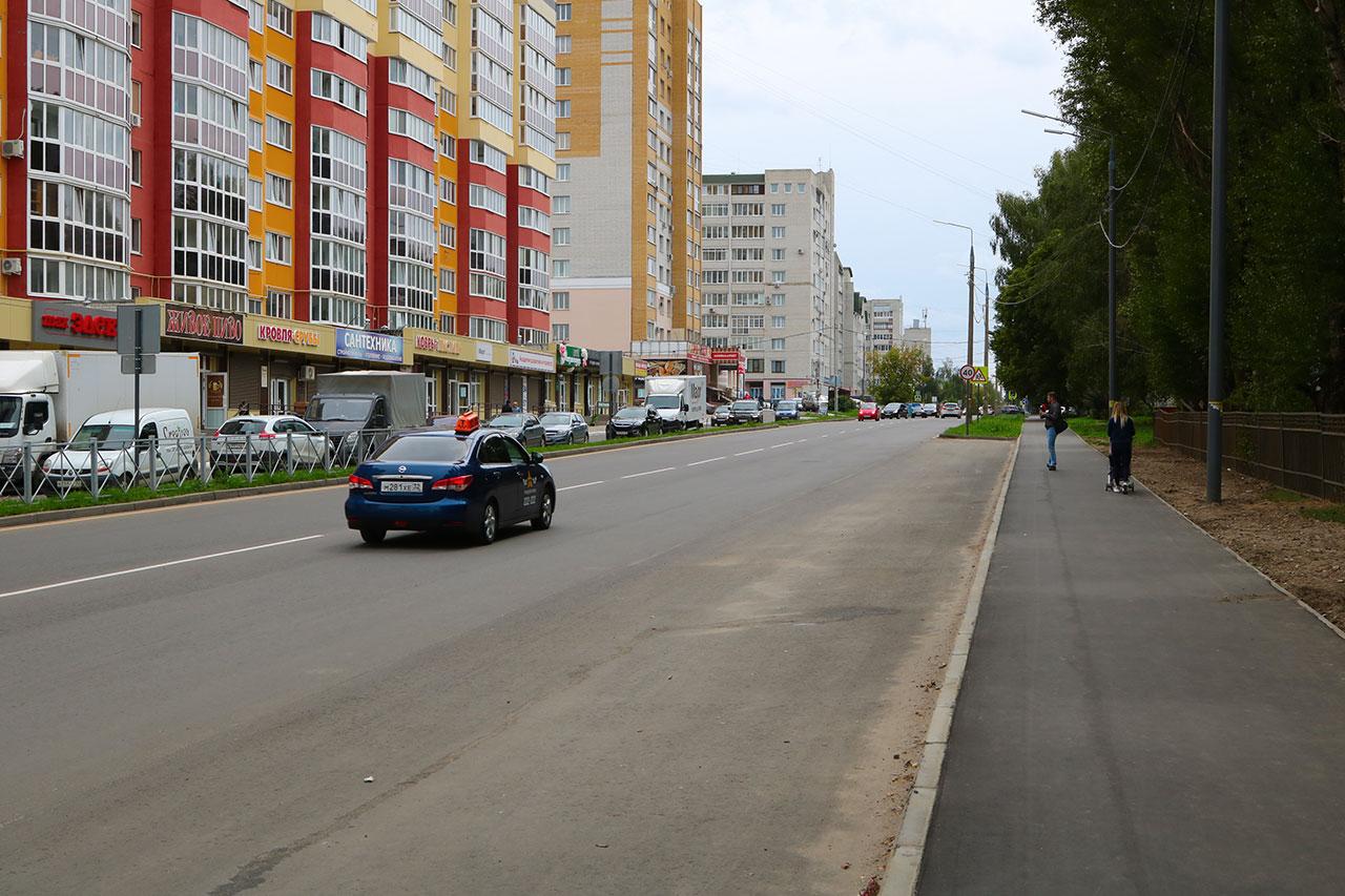 В Брянске отремонтировали улицу Костычева