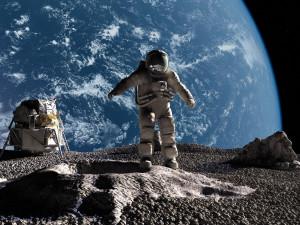 Доставленный с Луны астронавтами США камень оказался земным