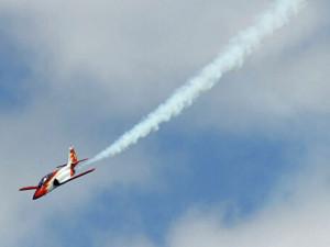 Падение в море самолета испанских ВВС очевидцы сняли на видео (видео)