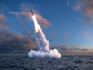 Минобороны опубликовало видео пуска «Булавы» с атомной подлодки