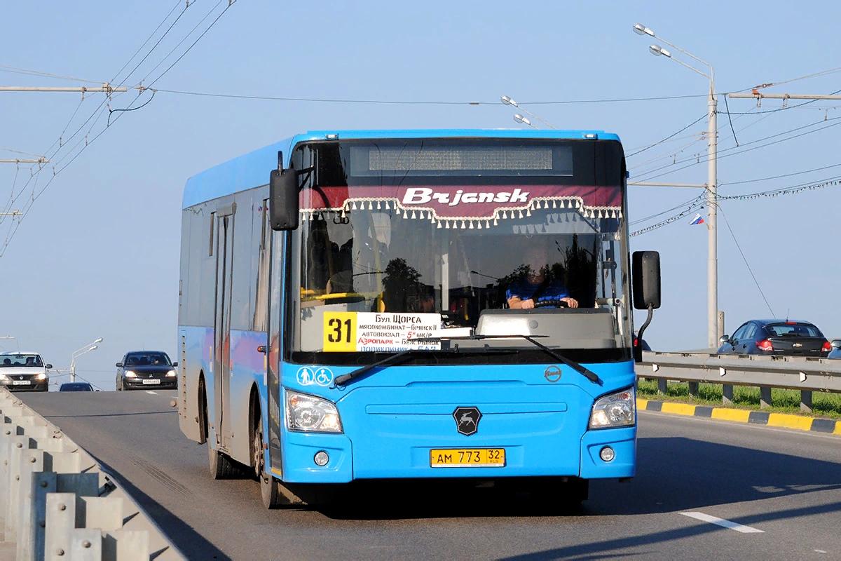 В Брянске изменилось расписание движение автобуса №31