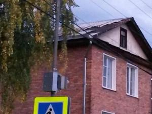 Крыши рвет, электричество отключает непогода на Южном Урале?