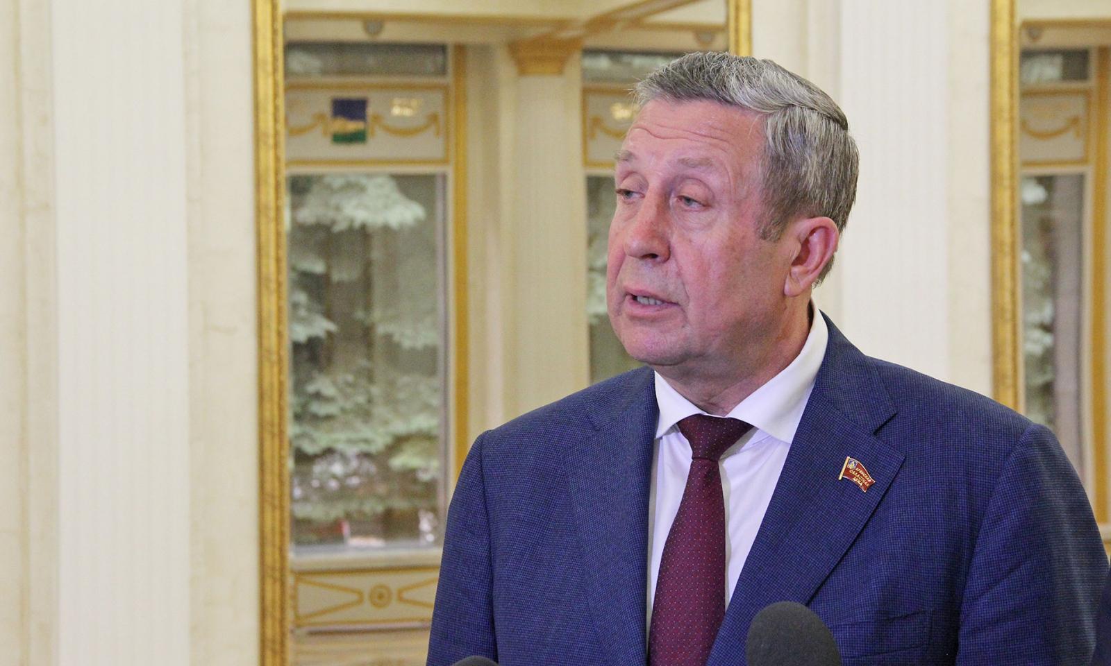 Брянскую областную думу снова возглавит Владимир Попков