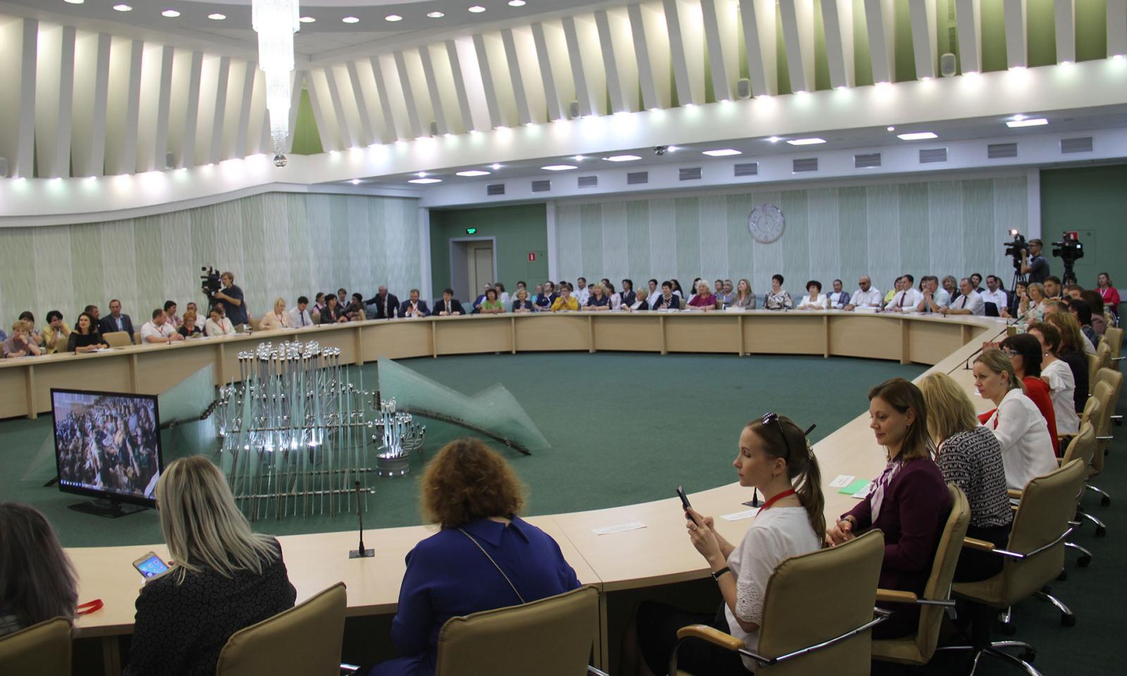 Ход реализации национального проекта «Культура» обсудили в Брянске на всероссийском уровне