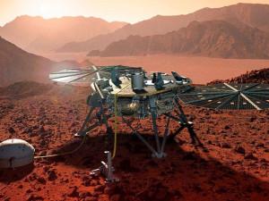 Таинственные магнитные импульсы обнаружены на Марсе