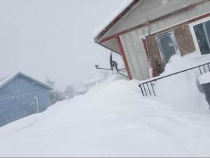 Снегопад побил столетний рекорд (видео)