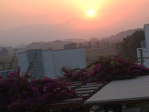 Как наступает новый день на белом свете: гора и солнце. Турецкие зарисовки