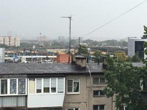 Смог в Челябинске сегодня непривычно «пустой»